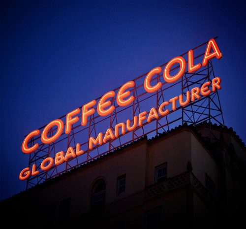 Coffee cola global manufacturer new