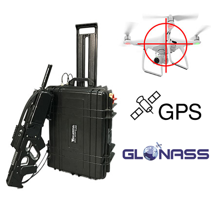 https://www.perfectjammer.com/drone-signal-jammers.html The device is one of the most popular drone jammers. The main part of the product adopts the portable box design, which is convenient to move. Gun type aiming accessories for easy use and to aim at. In recent years, governments around the world have begun buying large amounts of such equipment to control drones. Such products have been used repeatedly at World Economic Forum to maintain order. Has an auxiliary lighting sight, it can block drones well even at night.
